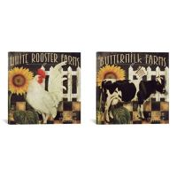Buy Vermont Farm Diptych 60-Inch x 30-Inch Canvas Wall Art ...