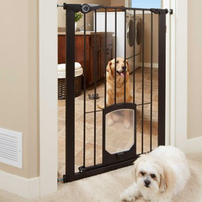 MyPet Passage 42Inch Extra Tall Pet Gate with Small Pet