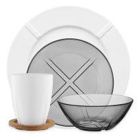 Kosta Boda Bruk Dinnerware Collection - Bed Bath & Beyond