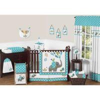Crib Bedding Sets > Sweet Jojo Designs Mod Elephant 11