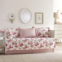 Buy Laura Ashley Lidia Daybed Set in Pink from Bed Bath ...