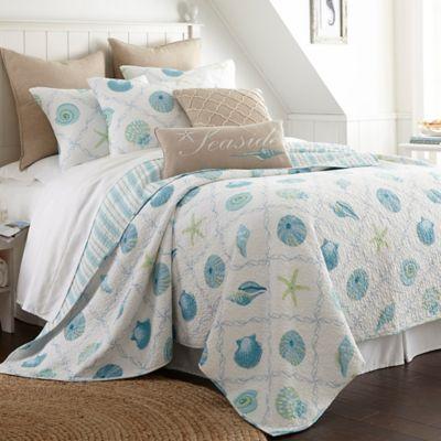 Levtex Home Seaglass Reversible Quilt Set  Bed Bath  Beyond
