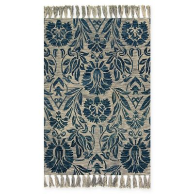Magnolia Home By Joanna Gaines Jozie Day Rug In Blue Bed