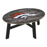 Buy NFL Denver Broncos Distressed Wood Coffee Table from ...