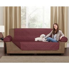 Buffalo Check Sofa Cover Leather And Bed Buy Maytex Reversible Pet In ...