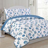 Panama Jack Seashells Reversible Quilt Set - Bed Bath ...