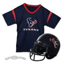 Buy NFL Houston Texans Kids Helmet/Jersey Set from Bed ...