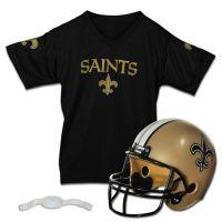 Buy NFL New Orleans Saints Helmet/Jersey Set from Bed Bath ...