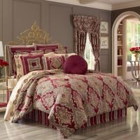Buy J. Queen New York Crimson California King Comforter ...
