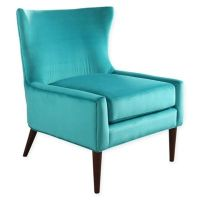 Buy Abbyson Living Elizabeth Velvet Wingback Chair in ...