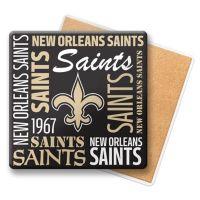 NFL New Orleans Saints Coasters (Set of 6) - Bed Bath & Beyond