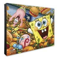 Photo File SpongeBob SquarePants 16-Inch x 20-Inch Canvas ...