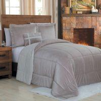 Micro Sherpa Comforter Set - Bed Bath & Beyond