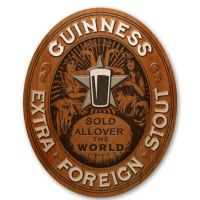 Guiness Vintage Style Foreign Extra Stout Wall Art - Bed ...