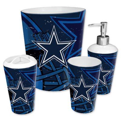 nfl dallas cowboys 4 piece bath set by the northwest