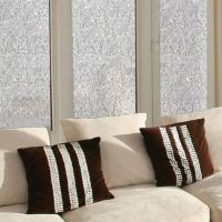 Decorative Privacy Film Window Glass Cling in Mosaic - Bed ...