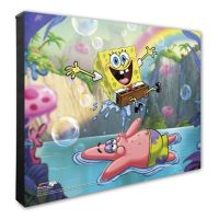 Nickelodeon SpongeBob and Patrick 16-Inch x 20-Inch ...
