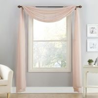 Voile Sheer Window Scarf - Bed Bath & Beyond