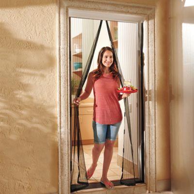 magic mesh instant magnetic screen door