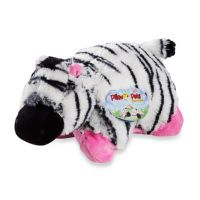 Pillow Pets Pee-Wee in Zebra - BedBathandBeyond.com