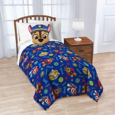 nickelodeon paw patrol nogginz pillow and blanket set