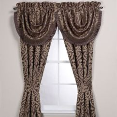 Valances For Kitchen Over Sink Light J. Queen New York™ Luxembourg 84-inch Window Curtain Panel ...