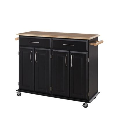 Home Styles Dolly Madison Kitchen Rolling Island Cart Bed Bath