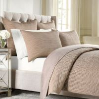 Wamsutta Serenity Quilted Coverlet in Copper
