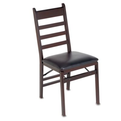 Buy Cosco Wood Folding Chair with Padded Seat from Bed