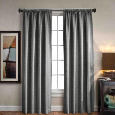 Sonoma Rod PocketBack Tab Window Curtain Panels  Bed