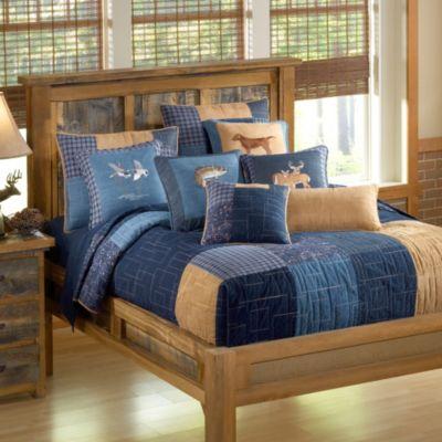 Donna Sharp Denim Square Quilt Bed Bath  Beyond