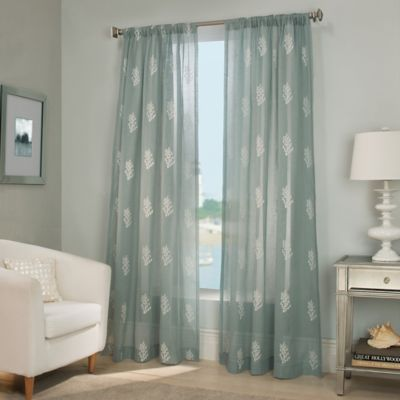 Reef Sheer Window Curtain Panel  Bed Bath  Beyond