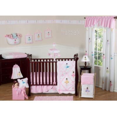 sweet jojo designs ballerina crib bedding collection buybuy baby