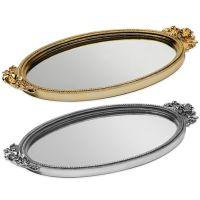 Taymor Antique Rose Resin Mirror Vanity Tray - Bed Bath ...