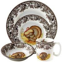 Spode Woodland Turkey Dinnerware Collection
