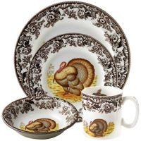 Spode Woodland Turkey Dinnerware Collection