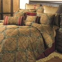Sherry Kline Regal Comforter Set in Red/Gold - Bed Bath ...
