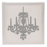 Glenna Jean Lil Princess Chandelier Fabric Covered Canvas ...