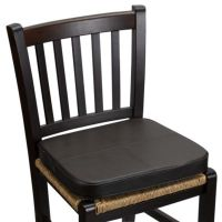 Faux Leather Chair Pad - Bed Bath & Beyond