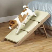 Pet Studio 3-Step Metro Ramp Step in Brown - Bed Bath & Beyond