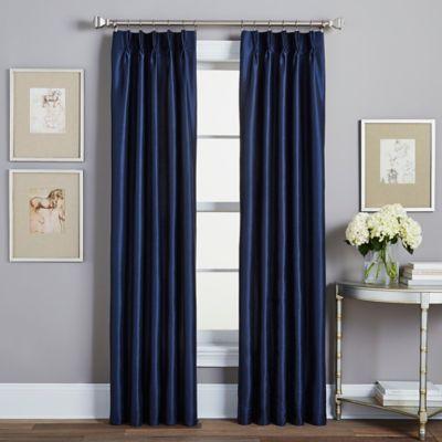 Spellbound PinchPleat Rod Pocket Lined Window Curtain