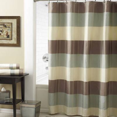Croscill Fairfax Shower Curtain In Taupe Bed Bath Amp Beyond