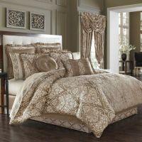 J. Queen New York Stafford Comforter Set in Mocha - Bed ...