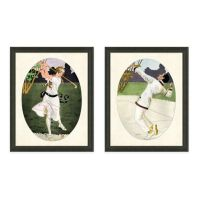 Framed Gicle Golfer Print Wall Art - Bed Bath & Beyond