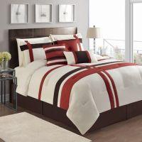 VCNY Berkley 7-Piece Queen Comforter Set - Bed Bath & Beyond
