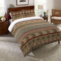Laural Home Country Mood Sage Comforter in Green - Bed ...