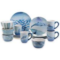 Buy Certified International Sea Life 16-Piece Dinnerware ...