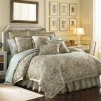 J. Queen New York Barcelona Comforter Set in Aqua - Bed ...