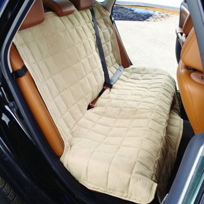 Sure Fit 174 Waterproof Soft Suede Bench Seat Cover Bed