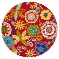 Buy Safavieh Four Seasons Wonderland 4-Foot Round Area Rug ...